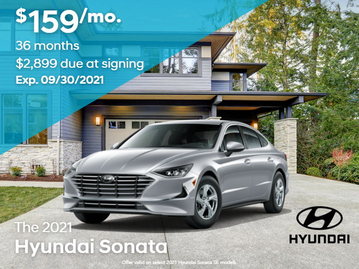 New 2021 Hyundai Sonata SE 4Dr Sedan