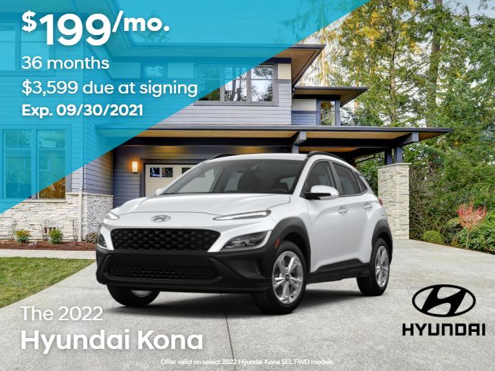 New 2022 Hyundai Kona SEL FWD