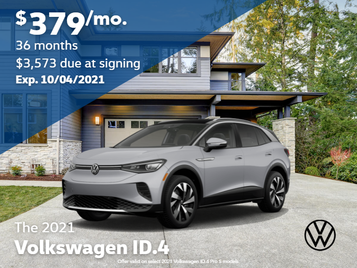 2021 Volkswagen ID.4 Pro with Automatic Transmission