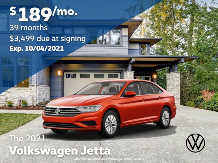 New 2021 Volkswagen Jetta 1.4T S with Automatic Transmission