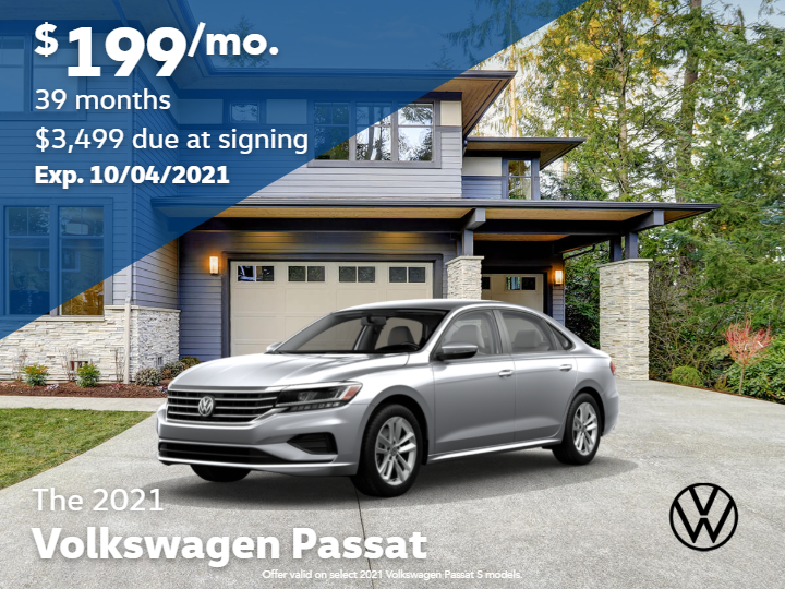 2021 Volkswagen Passat 2.0T S With Automatic Transmission