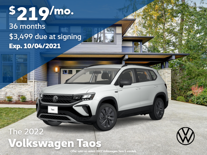 2022 Volkswagen Taos S with Automatic Transmission