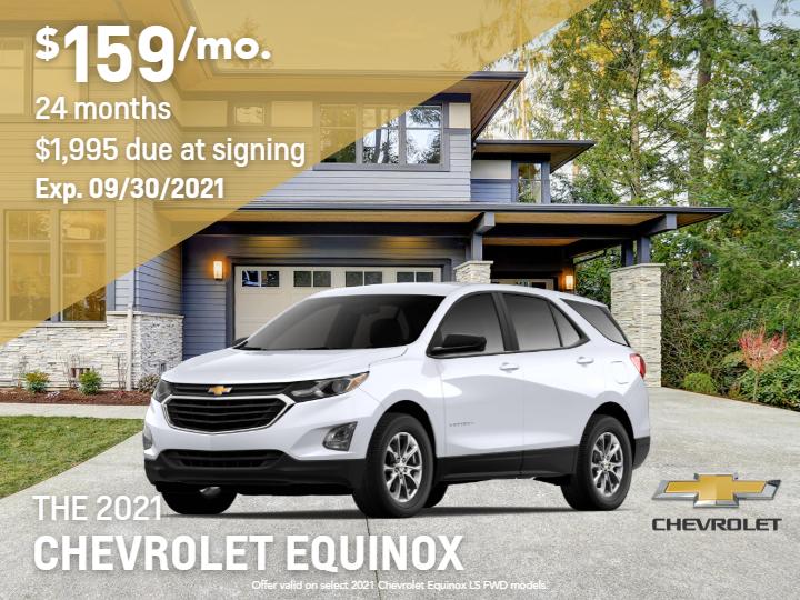 New 2021 Chevrolet Equinox LS FWD