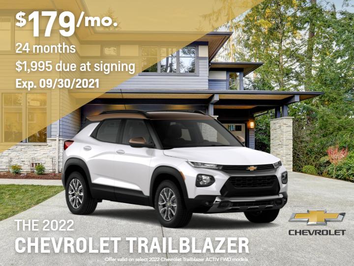 2022 Chevrolet Trailblazer FWD Activ SUV