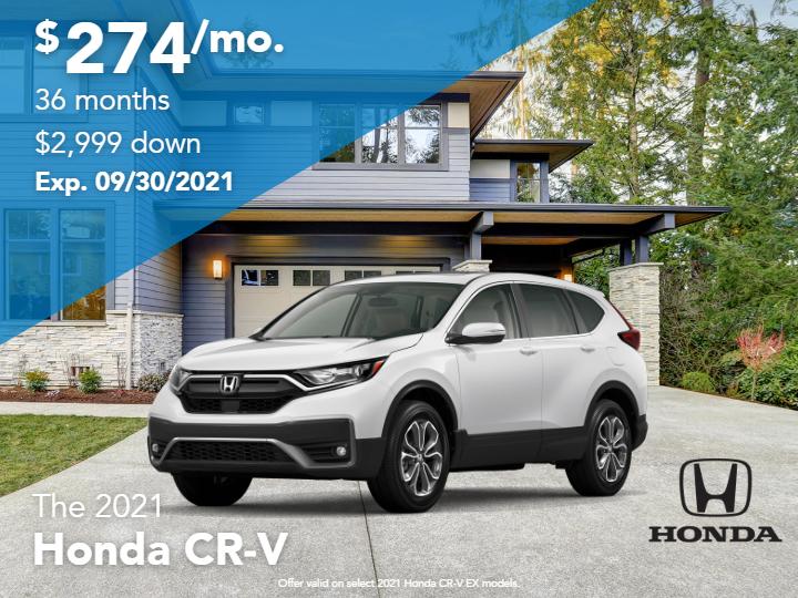 New 2021 Honda CR-V SE AWD 4D Sport Utility Automatic