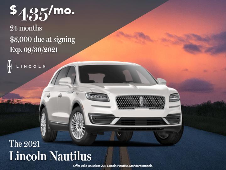 2021 Lincoln Nautilus Standard FWD 2.0L Turbocharged SUV