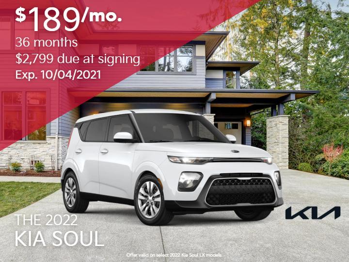 New 2022 Kia Soul LX FWD