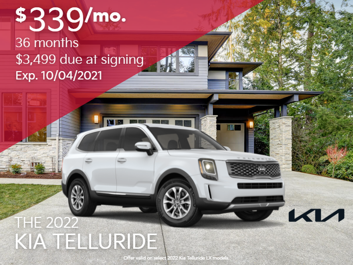 2022 Kia Telluride LX 3.8L FWD 8AT