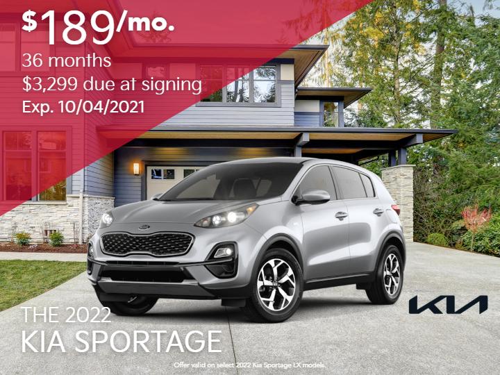 New 2022 Kia Sportage LX AWD