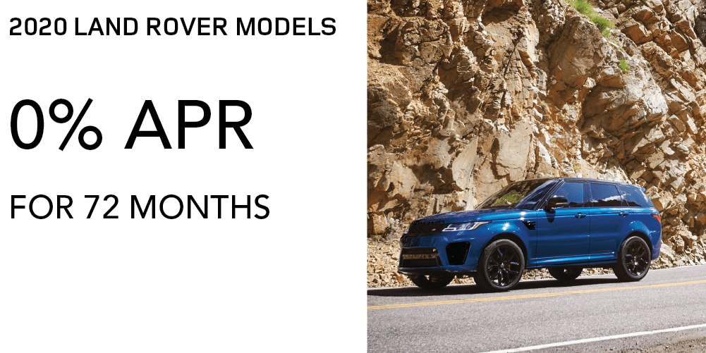 ALL 2020 LAND ROVER MODELS