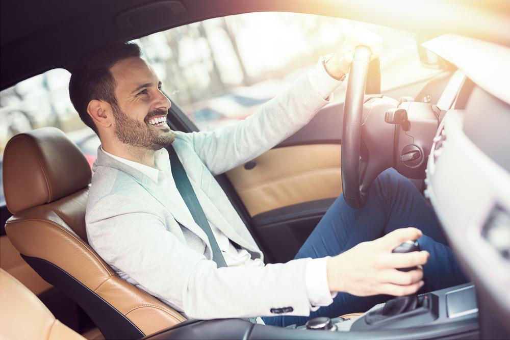 Man Driving Boise ID