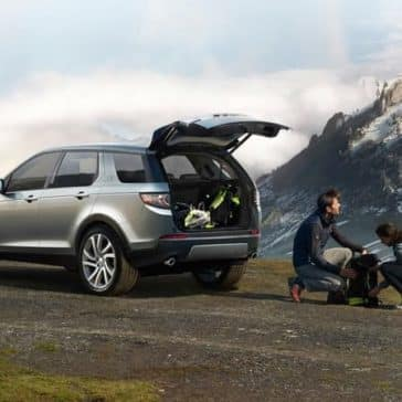 2019 Land Rover Discovery Sport open trunk
