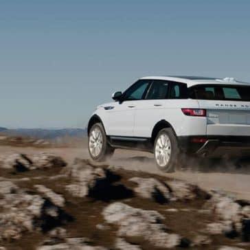 2019 Range Rover Evoque in desert