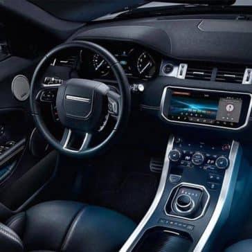 2019 Range Rover Evoque dashboard