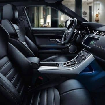 2019 Range Rover Evoque seating