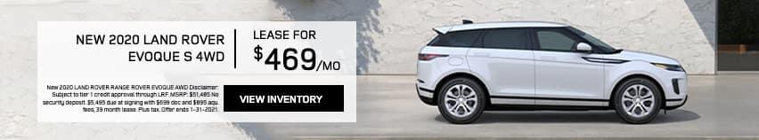 EAG_LandRover_New 2020 Land Rover Evoque S 4WD