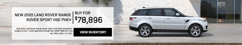 EAG_LandRover_New 2020 Land Rover Range Rover Sport HSE Phev