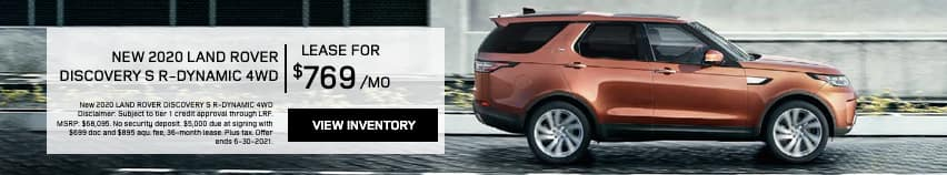 EAG_LandRover_New 2020 LAND ROVER DISCOVERY S R-DYNAMIC 4WD_
