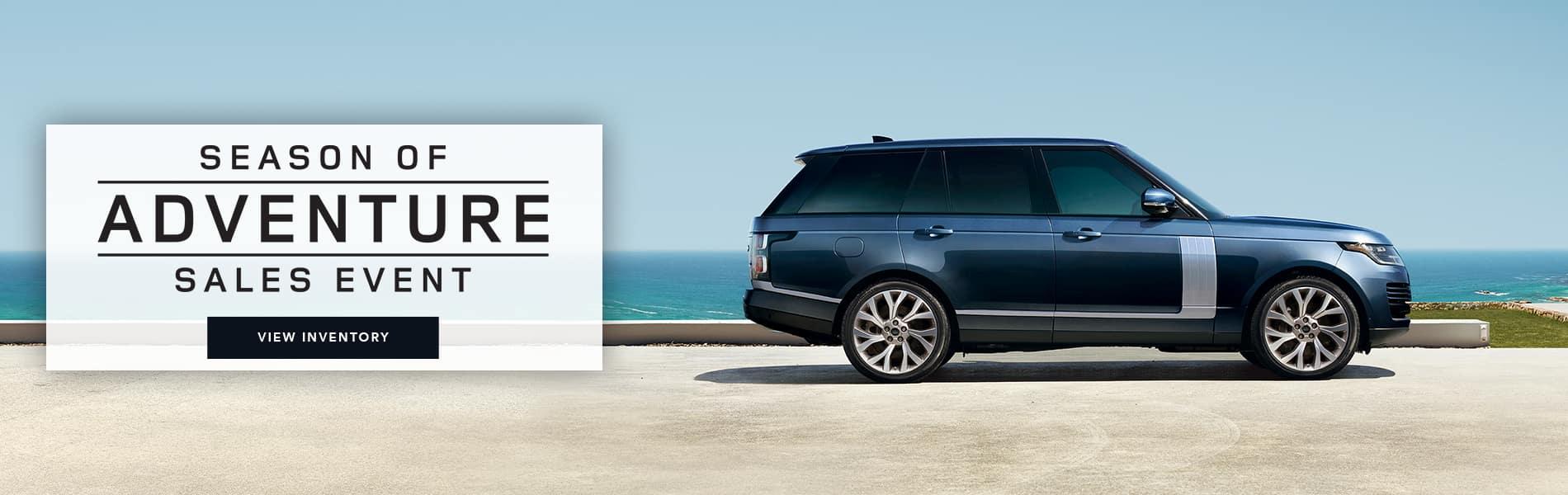 Land Rover Sales Event | Season Of Adventure Sales Event
