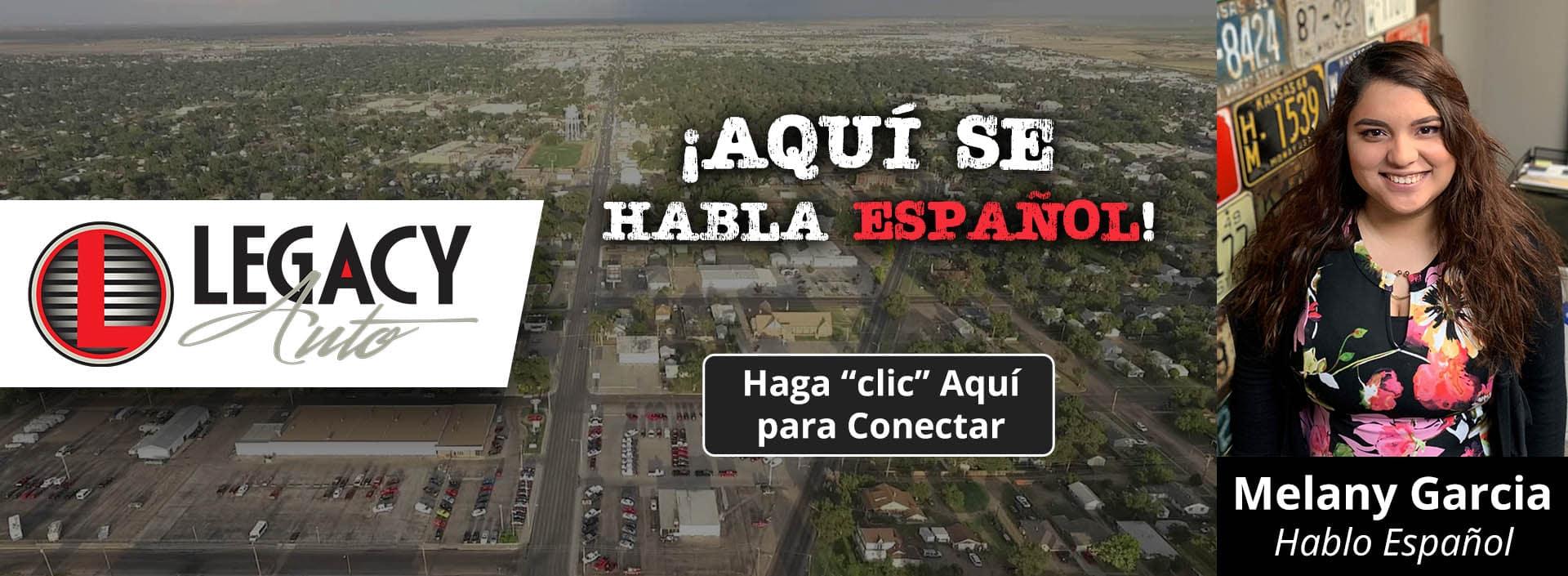 We Speak Spanish - Legacy Auto Center