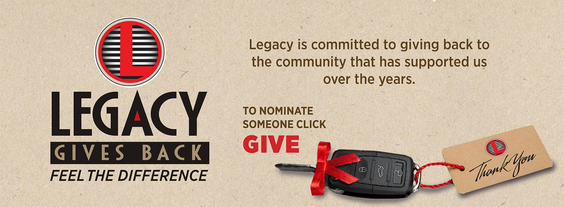 Legacy Gives Back in Garden City, KS