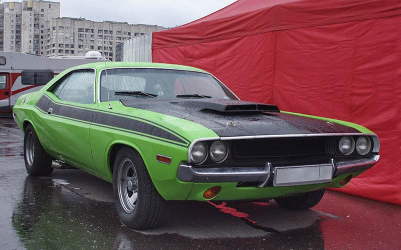 Dodge Muscle Cars: There Is No Competition
