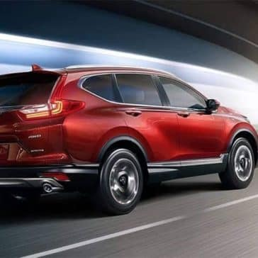 2019 Honda CR V Driving Through Tunnel