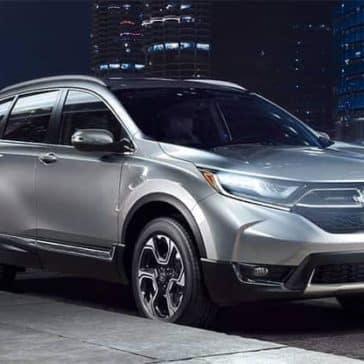 2019 Honda CR V Parked on Street in City