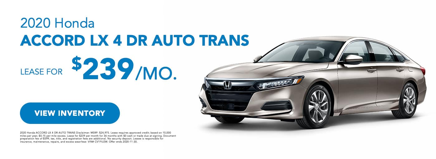 2020 Honda Accord LX 4DR Auto Trans (1)