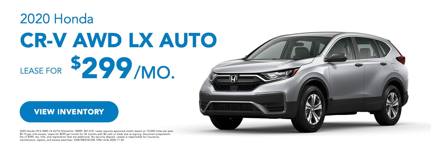 2020 Honda CR-V LX AWD Auto (1)