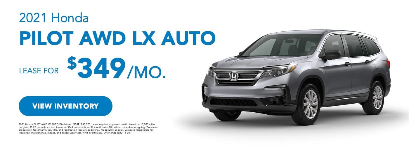 2020 Honda Pilot LX AWD (1)