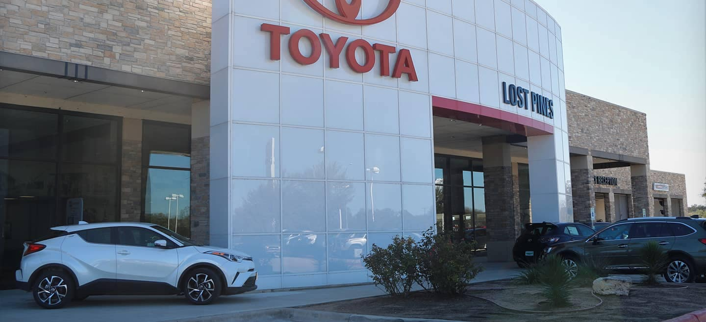 welcome to Lost Pines Toyota