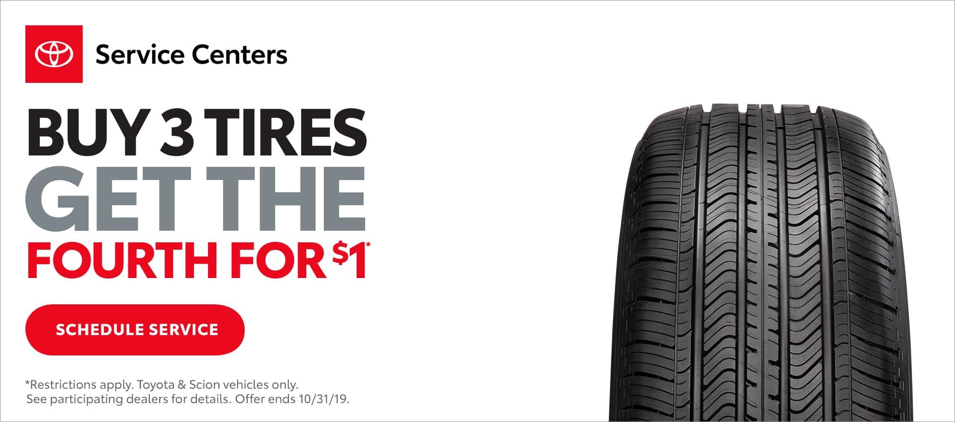 Buy 3 Tire Sale Toyota Dealer Bastrop