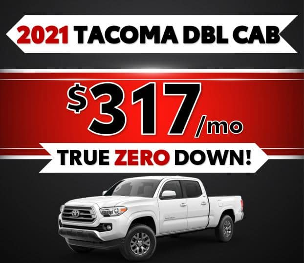 2021 Toyota Tacoma Black Friday Sale at Lost Pines Toyota