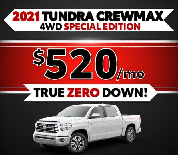 2021 Toyota Tundra Black Friday Sale at Lost Pines Toyota