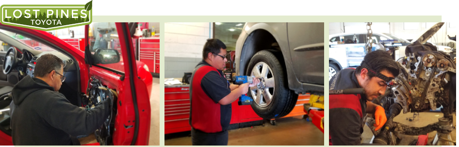 Express Techs at Lost Pines Toyota Near Austin, TX