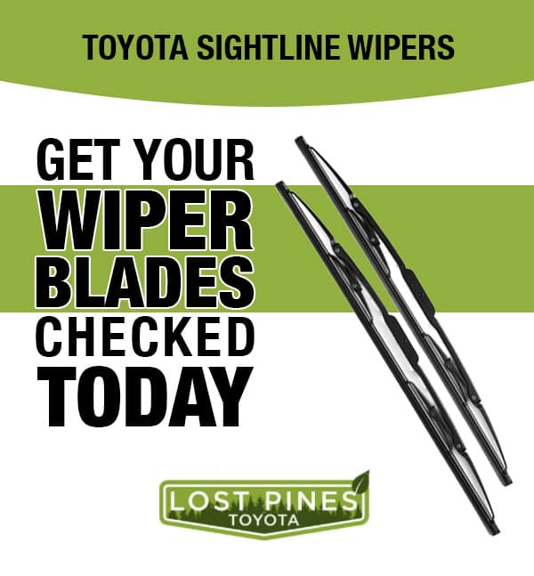 Get Your Wiper Blades Checked Today