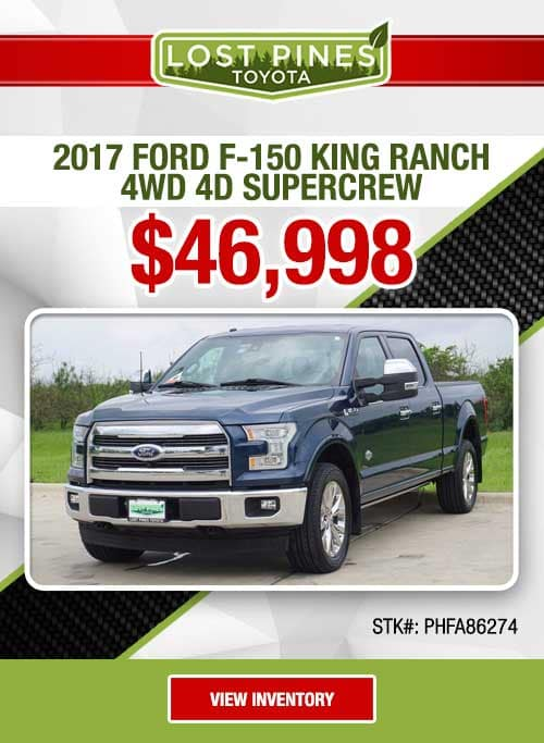 2017 Ford F-150 King Ranch 4WD 4D SuperCrew