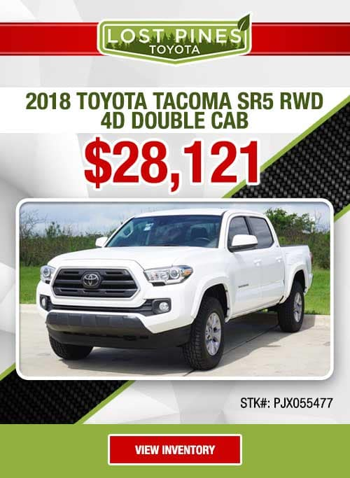 2018 Toyota Tacoma SR5 RWD 4D Double Cab