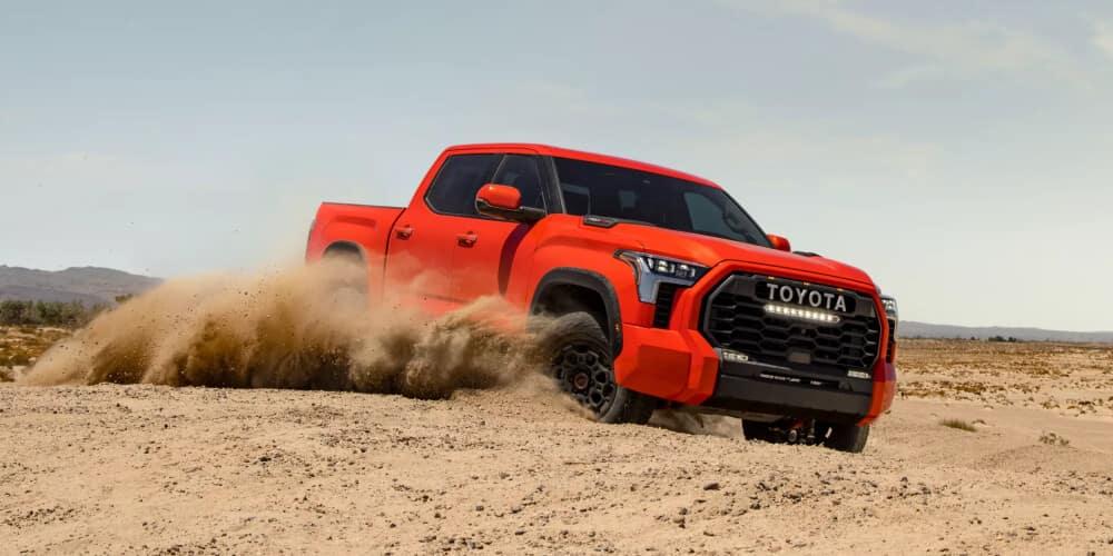 2022 Toyota Tundra orange