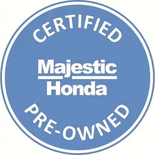 Majestic Honda Certified Pre-Owned Warranty