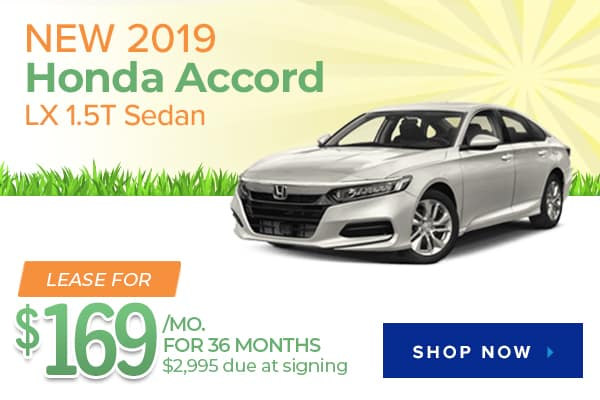 New 2019 Honda Accord LX 1.5T Sedan