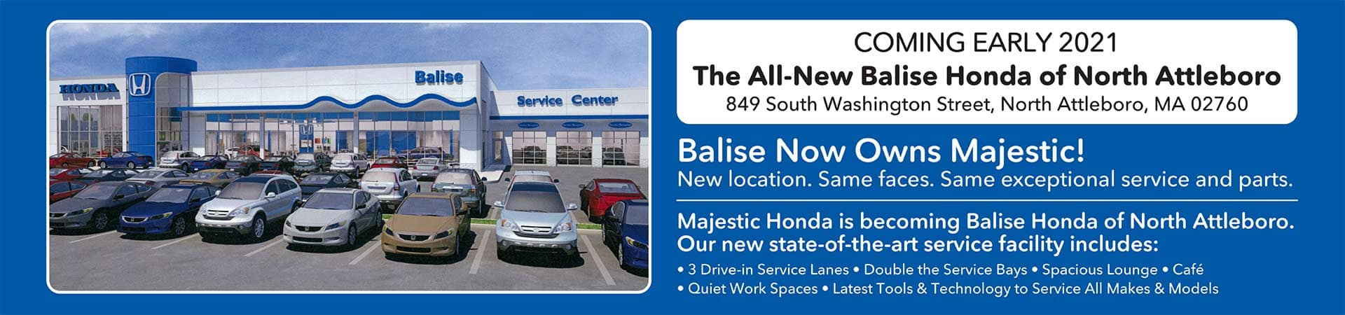 The All-New Balise Honda of North Attleboro