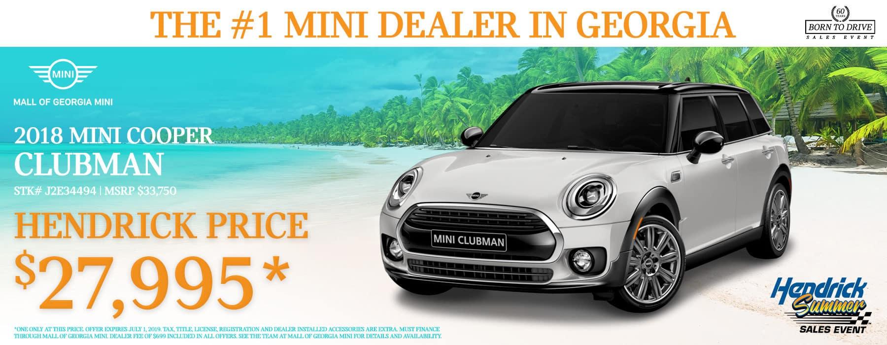 Mall Of Georgia Mini Mini Dealer In Buford Ga