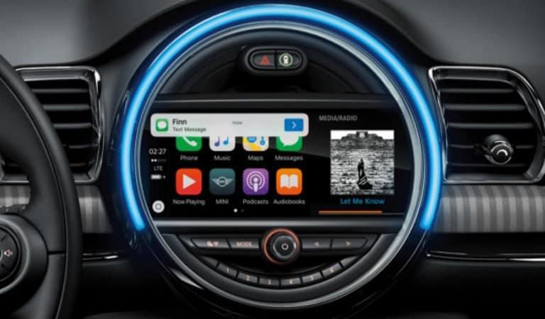 2020 MINI Convertible Touchscreen Technology