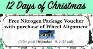 Free Nitrogen with Wheel Alignment
