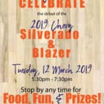 Tailgate celebration march 12 2019 530 pm