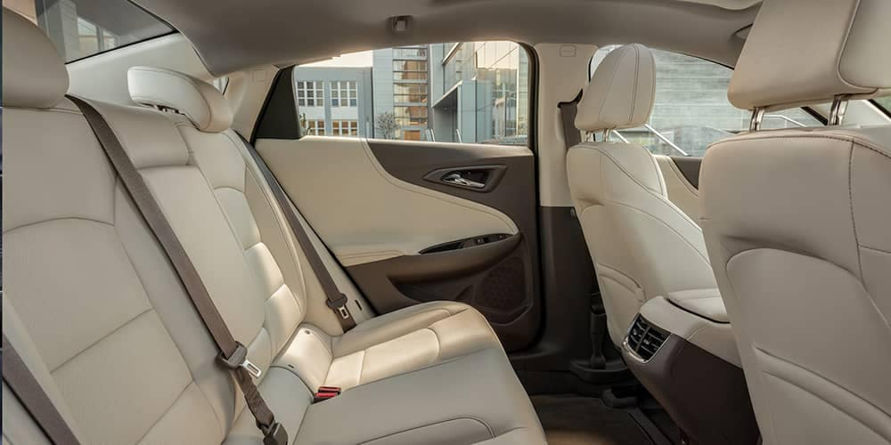 2019 Chevy Malibu Seating