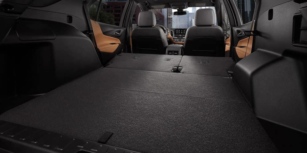 2019 equinox full cargo area