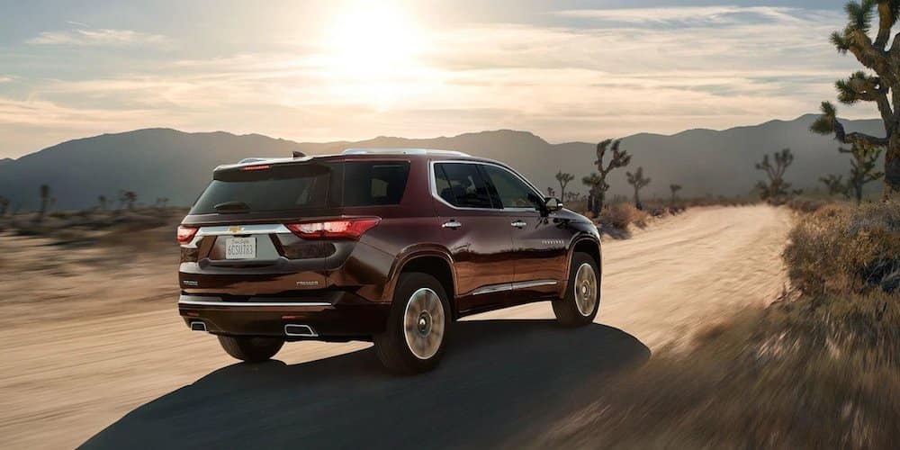 2019 premier traverse on desert highway